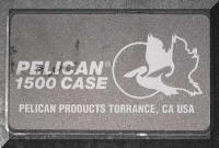 Pelican case model number
